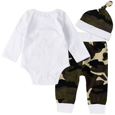 Kids Infant Boys girls Baby Winter Clothes Clothing 3pcs Sets Child Cute Outfits