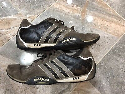 Men s Adidas Adi Racer Low Goodyear racing driving shoes sneakers size 10 7ae3c9573