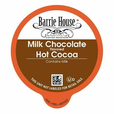 Barrie House Milk Chocolate Hot Cocoa Value Bulk Pack Capsules 80 ct