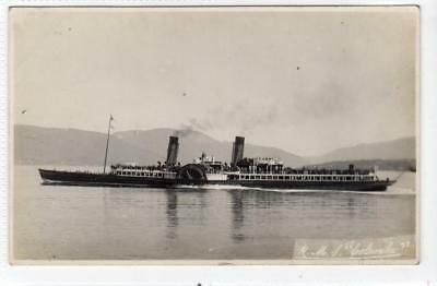 "R.M.S. ""COLUMBA"": Clyde Paddle Steamer postcard (C31668)"