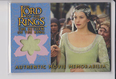 Lord of the Rings Memorabilia Costume Card-  Arwen´s Coronation Dress -Topps