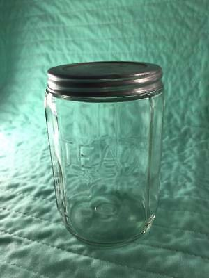 Vintage Hoosier Clear Glass 850 Vase 4086 B Ribbed Flared 5b Thick