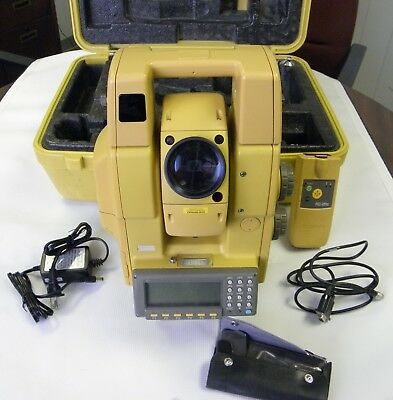 """Topcon GTS-820A Series GTS-825A 5"""" Robotic Total Station With RC-2RII Remote"""