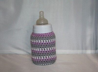 Crochet  baby bottle COVER Tommee Tippee/ NUK/ MAM/ AVENT/ DrBrown /PERSONALISED