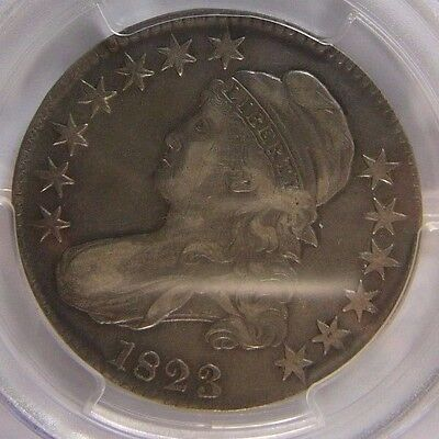 1823 Capped Bust Half Dollar PCGS XF 40 Cert# 26166088 REDUCED