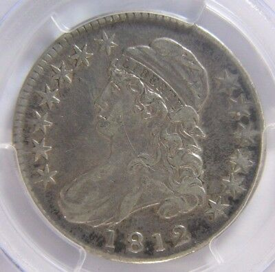 1812 Capped Bust Half Dollar PCGS VF 35 Cert# 25085035 NICE! REDUCED