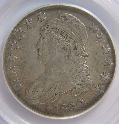 1830 Capped Bust Half Dollar PCGS XF 45 Small 0 Cert# 20819569 REDUCED