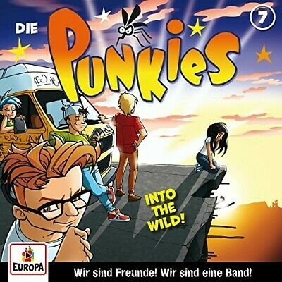 007 / Into The Wild - Die Punkies (2017, CD NEUF)
