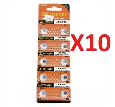 2 Battery Alkaline Cell Coin AGO alkso known as LR521 just the number you want