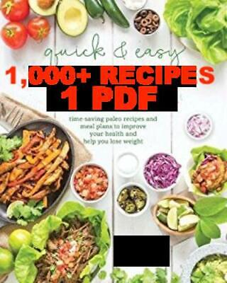 1,000 Low Carb Recipes - 1 PDF