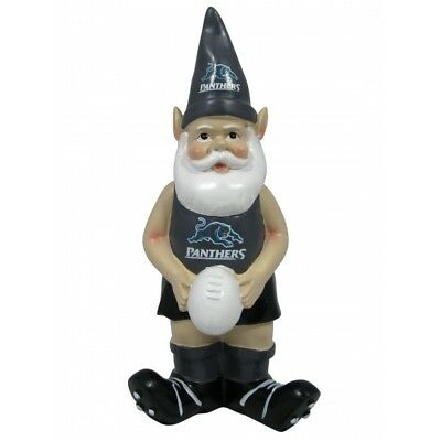 Penrith Panthers Official NRL Garden Gnome with Football UNBOXED