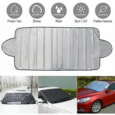 Magnetic Windscreen Cover Car Ice Frost Snow Dust Protector Sun Shade 215x125cm