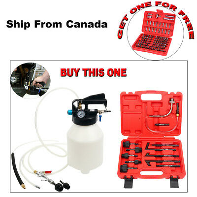GIFT! 6L Pneumatic ATF Oil Extractor +14pc ATF Adapters AND ONE Bit Set FOR FREE