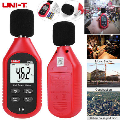 UNI-T UT353 Mini Digital Sound Level Meter Noise Decibel Tester 30-130dB Measure