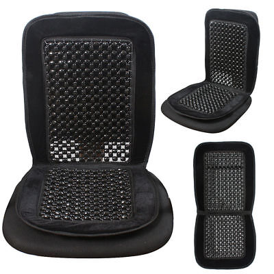 Black Beaded Seat Cover Cushion For For Smart For Two 2003-2007