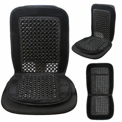 Black Beaded Seat Cover Cushion For For Toyota Previa
