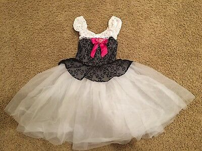 A Wish Come True Dance Costume ~ Size 6X-7 ~ Flaw