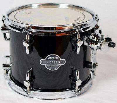 "Sonor Select Force Tom Tom SEF 11 1008 TT Piano Black 10"" x 08"""