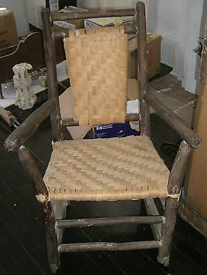 antique shaker rocker rocking chair very good collector s