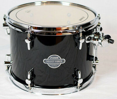 "Sonor Select Force Tom Tom SEF 11 1209 TT Piano Black 12"" x 09"""