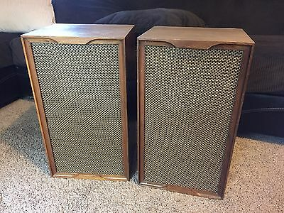 Vintage Heathkit AS-10 Speakers Acoustic Suspension Loudspeaker System