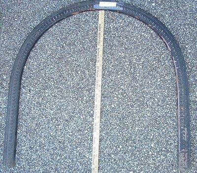 Mantel FIRE SCREEN frame  Arched   BRASS -ornate ANTIQUE  1800's