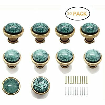 Antique Green Greenlake Glass Knobs Decorative And Pulls Handles For Kitchen Of
