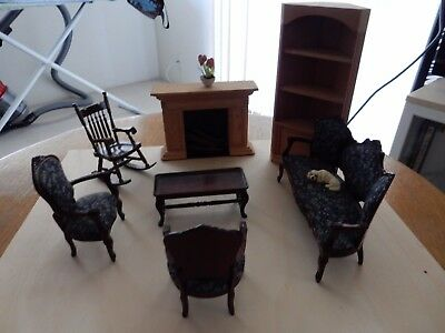 Lot of  Miniature Furniture for Doll House