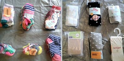 Wholesale Lot of Children Boy Girl Socks Tights Brand New 47 Pieces