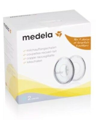 Medela Breast Milk Collection Shells Baby Feeding Set For Milk Leakage Discreet
