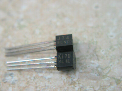 Genuine Toshiba 2SK170BL/2SJ74BL high transconductance JFET complimentary pair