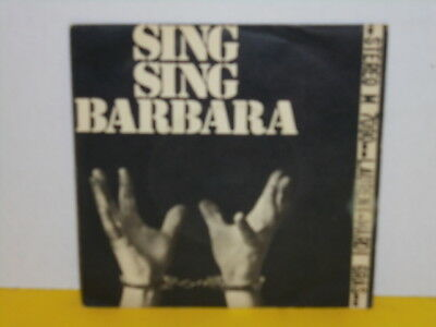 "Single 7"" - Laurent - Sing Sing Barbara - Le Temple Bleu"