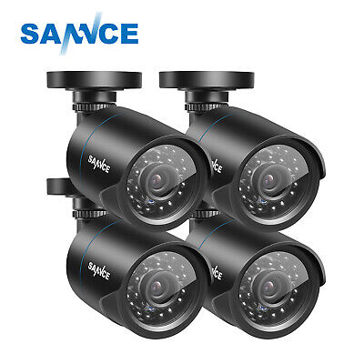 SANNCE 1X 900TVL CCTV Indoor Outdoor IR-CUT Camera fit for 960H Security DVR US