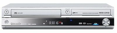 Panasonic DMR-EX98V DVD & VHS Recorder with 250GB HDD - Freeview - Silver