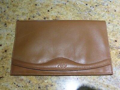 Orient Express tan leather wallet