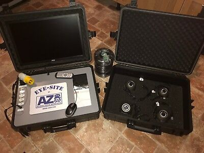 Portable 240v / 110v 8 Camera CCTV System 1TB  Demolition /Asbestos HSE
