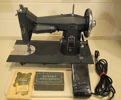 Super Heavy Duty Kenmore 117.551 Sewing Machine Loaded Completely Serviced