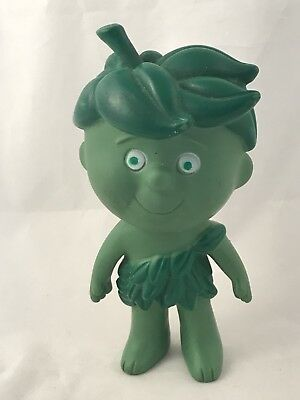 Vintage JOLLY GREEN GIANT Little Sprout Toy Doll Plastic/ Rubber