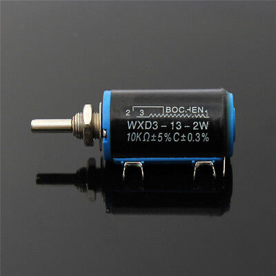 Schwarz Precision WXD3-13-2W Multi-Turn Wirewound Potentiometers 10K OHM BAF
