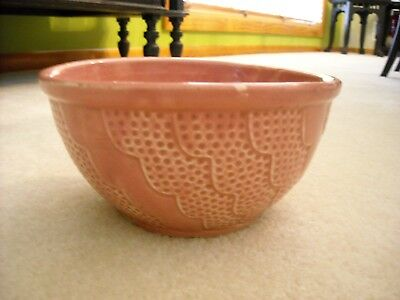"Roseville Pottery RRPCO Rippled Wavy 7.25"" Wide Mixing Nesting Bowl Mid Century"