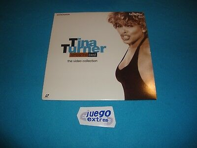 Tina Turner Simply The Best (1991) PAL LASERDISC Collectors Edition NO CD NO DVD