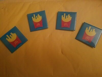 Mcdonald's French Fry Pins(4)