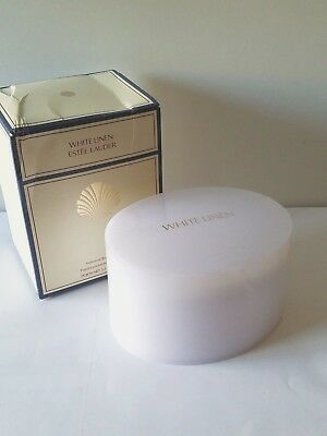 ESTEE LAUDER - WHITE LINEN PERFUMED BODY POWDER  3.5 OZ  NEW IN BOX fresh 2017