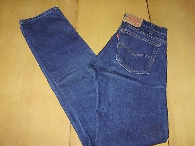 VINTAGE LEVIS 505 0217 XX JEANS made in USA 30 x 35