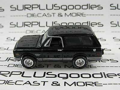 Johnny Lightning 1/64 Scale LOOSE Black Classic 1969 CHEVROLET Chevy BLAZER 4X4