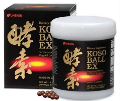 Umeken Koso Ball EX (jiao su wan) (370g) 13.2 oz 970 Pieces Made in Japan