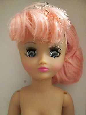 "Sugar Plum Fairy Nude Rini Horsman Fashion DOLL 19 pt Vinyl BJD 14"" Posable Pink"
