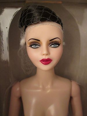 150th Anniversary Black Diamond Nude Urban Vita Horsman Doll Vinyl 19 pt BJD 16""