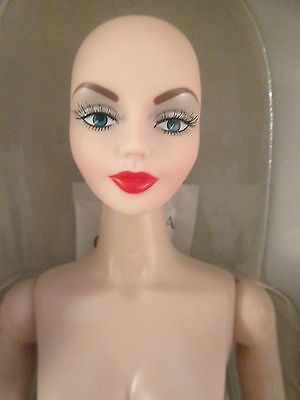 "Portrait Urban Vita Nude Bald Horsman Doll 19 point BJD 16"" Dorinda STAINED HEAD"