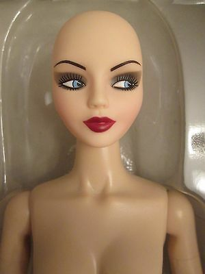 "Urban Vita In The Buff Bald Horsman Fashion Doll 19 point BJD 16"" Nude Vinyl"